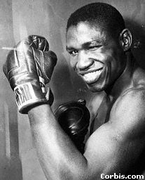 Gene Fullmer Grimaces Dick Tiger Punches, San  Fransciso, California, October 23, 1962